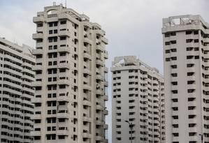 Prédios residenciais na Barra da Tijuca. Preço do aluguel começa 2016 em queda Foto: Dado Galdieri / Bloomberg