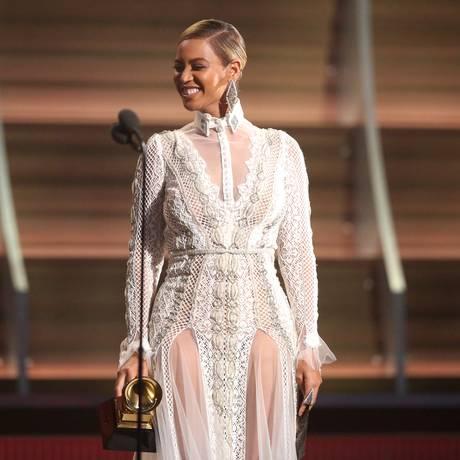 Beyoncé no Grammy 2016 Foto: Matt Sayles / Matt Sayles/Invision/AP