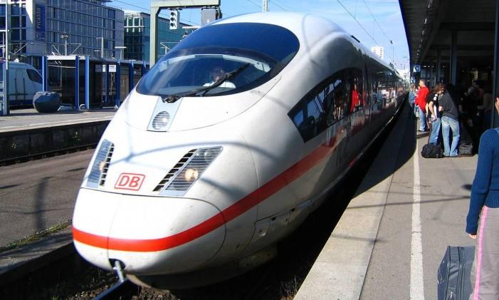 InterCity Express, Alemanha Foto: Reprodução Internet