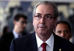O presidente da Câmara dos Deputados, Eduardo Cunha (PMDB-RJ) Foto: Jorge William / Agência O Globo