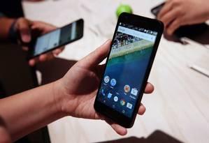 O Mazar infecta aparelhos com o sistema operacional Android, menos os que estão na Rússia Foto: JUSTIN SULLIVAN / AFP