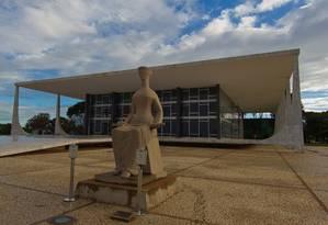 Fachada do Supremo Tribunal Federal Foto: Dorivan Marinho / SCO/STF/6-7-2011