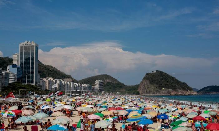 Turista tcheco foi esfaqueado em Copacabana, no dia 13 de fevereiro Foto: Pedro Kirilos / Agência O Globo