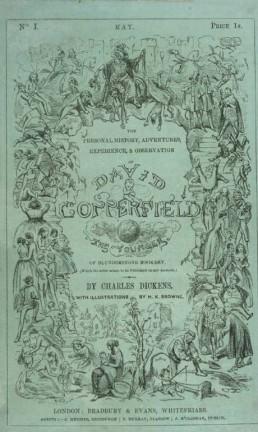 Capa da primeira edição do livro, publicado como folhetim Foto: Reprodução
