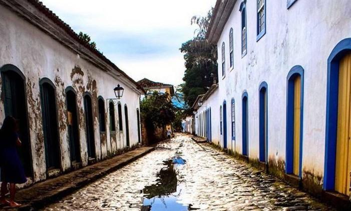 Centro Histórico de Paraty Foto: @simparaty / Instagram