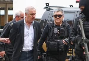 O pecuarista José Carlos Bumlai, preso em novembro de 2015 Foto: Geraldo Bubniak/24-11-2015 / Agência O Globo