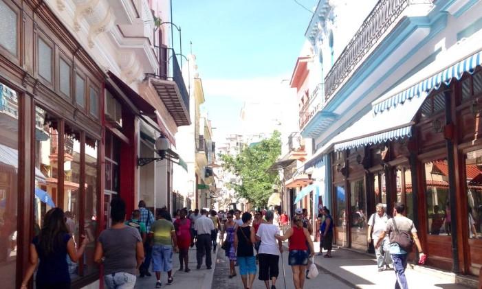 Havana velha Foto: Léa Cristina