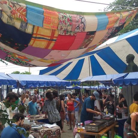 Última edição do circuito das artes de Niterói, na Praça Getúlio Vargas, em Icaraí Foto: Divulgação