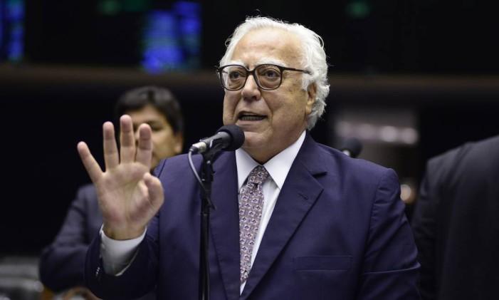 O deputado federal Miro Teixeira (Rede-RJ) Foto: Gustavo Lima/Câmara dos Deputados/Divulgação