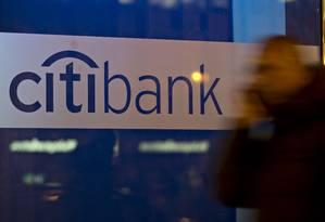 Filial do Citibank em Washington, EUA Foto: Andrew Harrer / Bloomberg