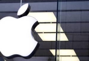 Símbolo da Apple Foto: Reuters