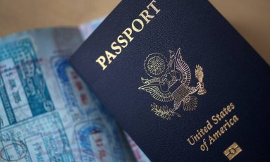 A concessão de visto brasileiro para americanos pode ser feita pela internet Foto: Victor J. Blue / Bloomberg
