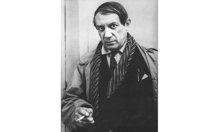 Pablo Picasso em 1957 Foto: Arquivo