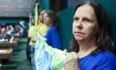 Maria do Socorro Ramalho, ex-funcionária da Caixa Econômica Federal, sofre com a crise no fundo de previdência Funcef Foto: ANDRE COELHO / Agência O Globo