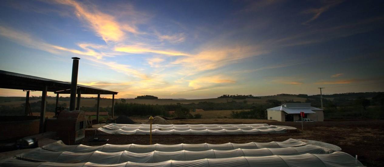 Multiplicação. Projeto de biogás em Marechal Cândido Rondon, no Paraná: com alta da energia, cresce interesse em fontes alternativas Foto: Divulgação