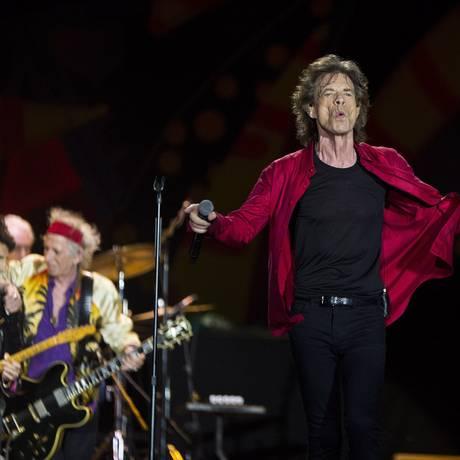 Show dos Rolling Stones no Maracanã Foto: Guito Moreto / Agência O Globo