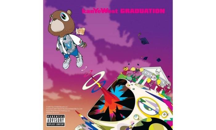Capa de 'Graduation', de Kanye West Foto: Reprodução