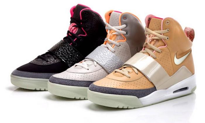 Tênis Air Yeezy, criado por Kanye West para a Nike Foto: Divulgação
