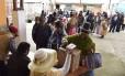 Índios Aymara votam em Huarina, a 75 km de La Paz