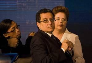 Muher de João Santana enviou bilhete para Zwi Skornicki, executivo apontado como um grande operador de propinas da Petrobras Foto: Marlene Bergamo / Folhapress