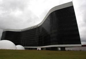 A sede do Tribunal Superior Eleitoral (TSE), em Brasília Foto: O Globo / Givaldo Barbosa / 14.12.2011