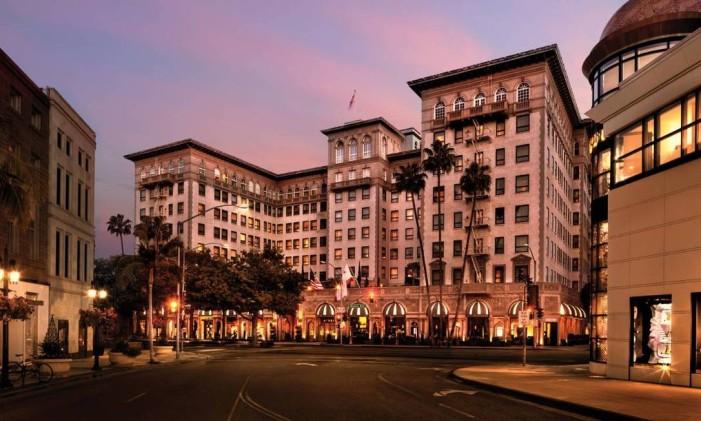 """Fachada do hotel que foi locação do filme """"Uma linda mulher"""" Foto: Divulgação"""