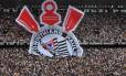 Segundo levantamento, o Corinthians tem a maior torcida nas mídias sociais Foto: NELSON ALMEIDA / Nelson Almeida/AFP