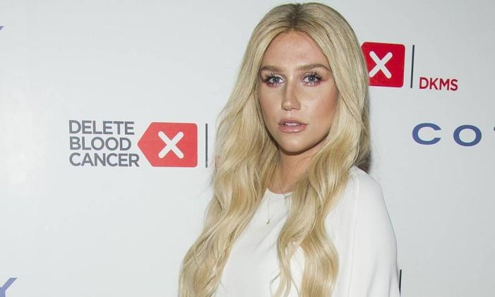 "Kesha irá cantar ""It Ain't Me"", de Bob Dylan, na apresentação Foto: Charles Sykes/Invision/AP"