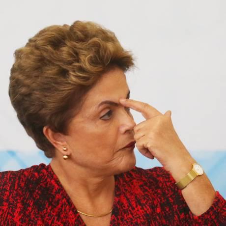 Dilma recebeu negativa sobre CMPF, mas bancada do PTB ofereceu alternativa ao imposto Foto: Ailton de Freitas / Agência O Globo