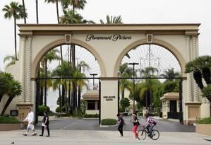 Entrada dos estúdios da Paramount Pictures em Los Angeles Foto: Nick Ut / AP