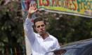 Peña Nieto visita Iguala no Dia da Bandeira Foto: HENRY ROMERO / REUTERS