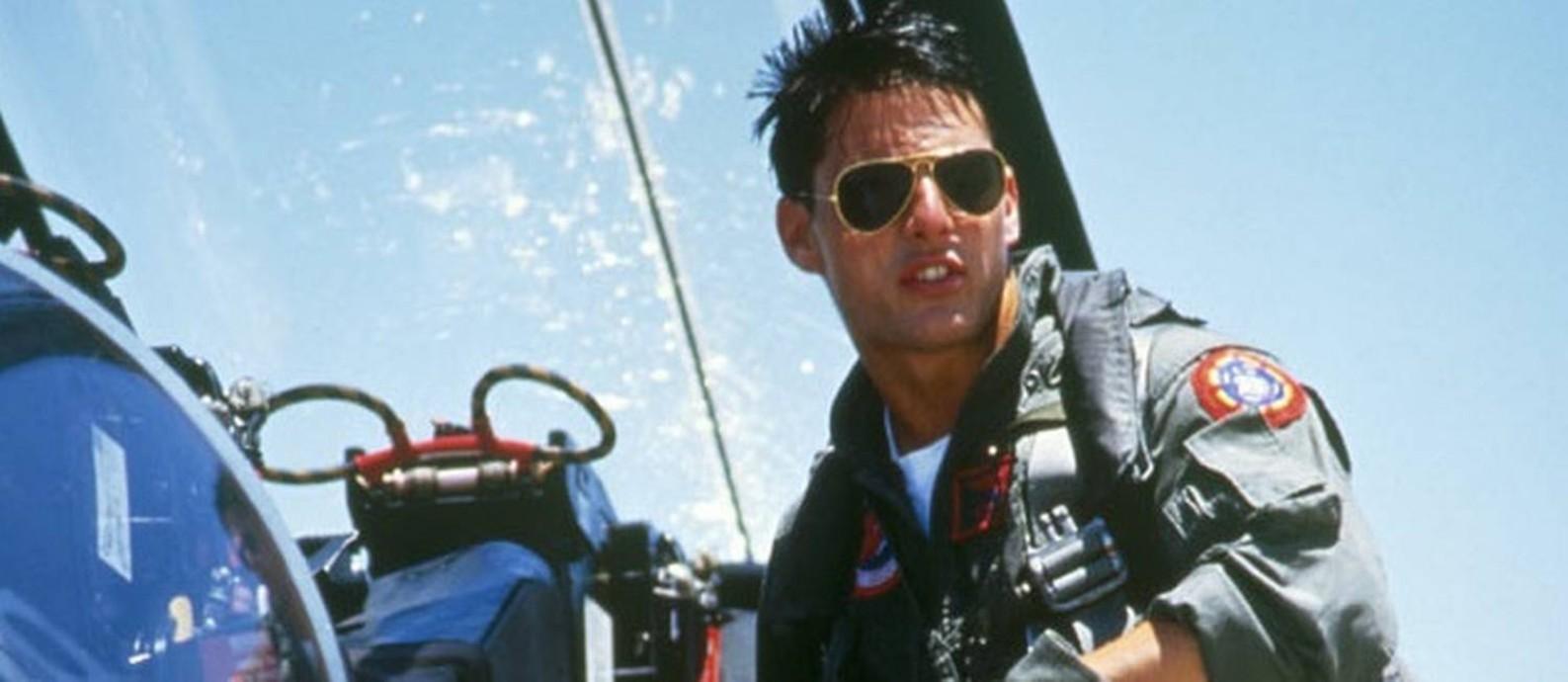 """Cena de Tom Cruise, no filme """"Top Gun"""" Foto: / REPRODUÇÃO"""