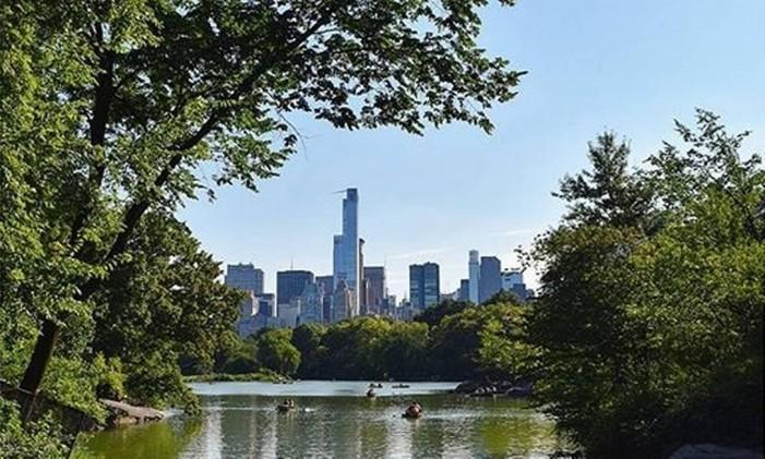 Central Park, em Nova York Foto: @karol.joao / Instagram