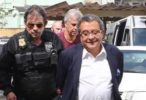 O marqueteiro João Santana é preso pela Polícia Federal Foto: Geraldo Bubniak / 22-2-2016