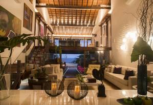 Mansão no Joá lidera lista das casas mais caras do Rio, sendo negociada ao preço de R$ 38,7 milhões Foto: Divulgação