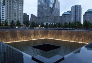Memorial 11 de Setembro. Homenagem às vítimas do WTC, no Financial District, Manhattan Foto: Marley White / NYC&Company/Divulgação