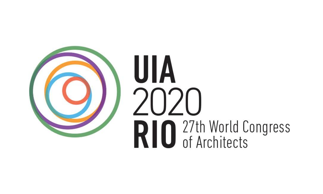 A marca vencedora irá compor a identidade visual do Congresso Mundial da União Internacional dos Arquitetos (UIA), que acontece em 2020 no Rio Foto: divulgação/ IAB-RJ