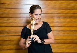 A atriz Glória Pires Foto: Renato Wrobel / Renato Wrobel