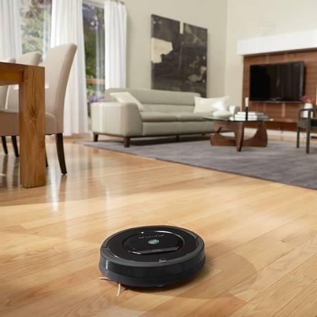 O Roomba 880, aspirador da iRobot Foto: Divulgação