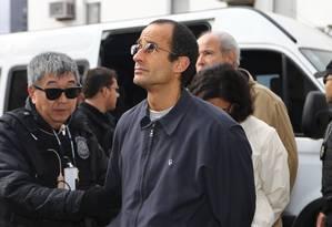 Marcelo Odebrecht, presidente da Odebrecht, preso no âmbito da Lava-Jato Foto: Geraldo Bubniak / Agência O Globo