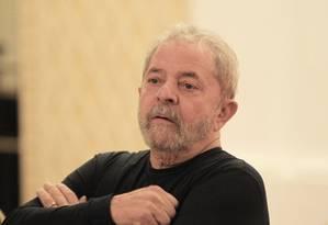 O ex-presidente Luiz Inácio Lula da Silva Foto: Marcos Alves / Agência O Globo 21/09/2015
