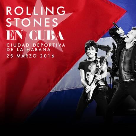 Rolling Stones anunciam show gratuito em Cuba Foto: Reprodução