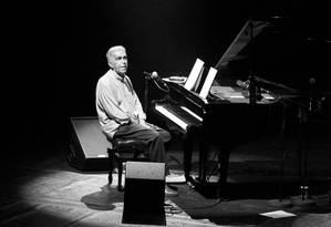 O músico Severino Filho, do grupo Os Cariocas Foto: Reprodução