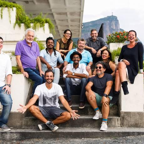 Time de peso. Artistas e produtores do evento: tributo relembrará momentos diversos da vida da cantora Foto: Barbara Lopes / Agência O Globo