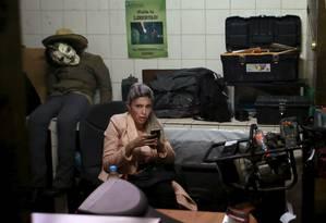 Gabriela Zapata está presa sob acusações de tráfico de influências Foto: DAVID MERCADO / REUTERS