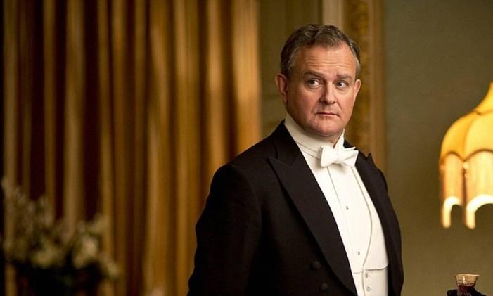 Hugh Bonneville como Lorde Grantham em 'Downton Abbey' Foto: Divulgação