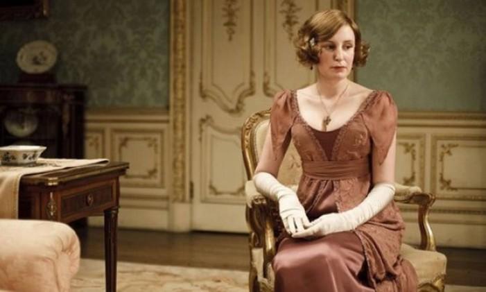Laura Carmichael como Lady Edith em 'Downton Abbey' Foto: Divulgação