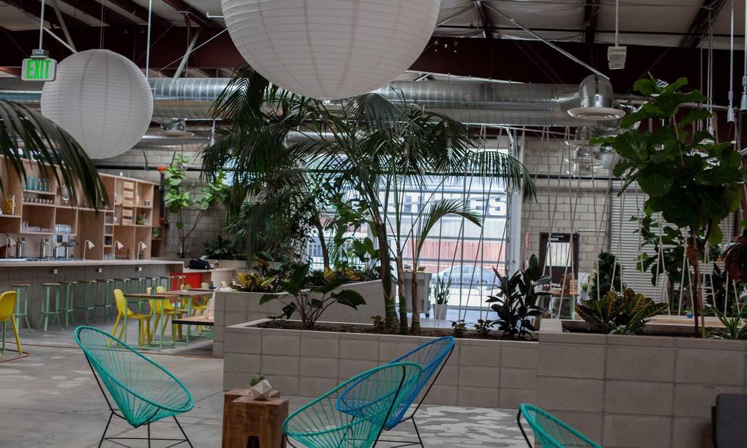 O recém-inaugurado The Springs, centro de bem-estar no Arts District Foto: Divulgação