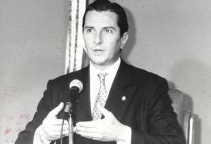 O então presidente Fernando Collor de Mello Foto: Luiz Antônio Novaes / Luiz Antônio Novaes