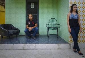 Queda no consumo. Como milhões de famílias brasileiras, a de Marcelo precisou cortar gastos depois que ele perdeu o emprego Foto: Daniel Marenco / Agência O Globo
